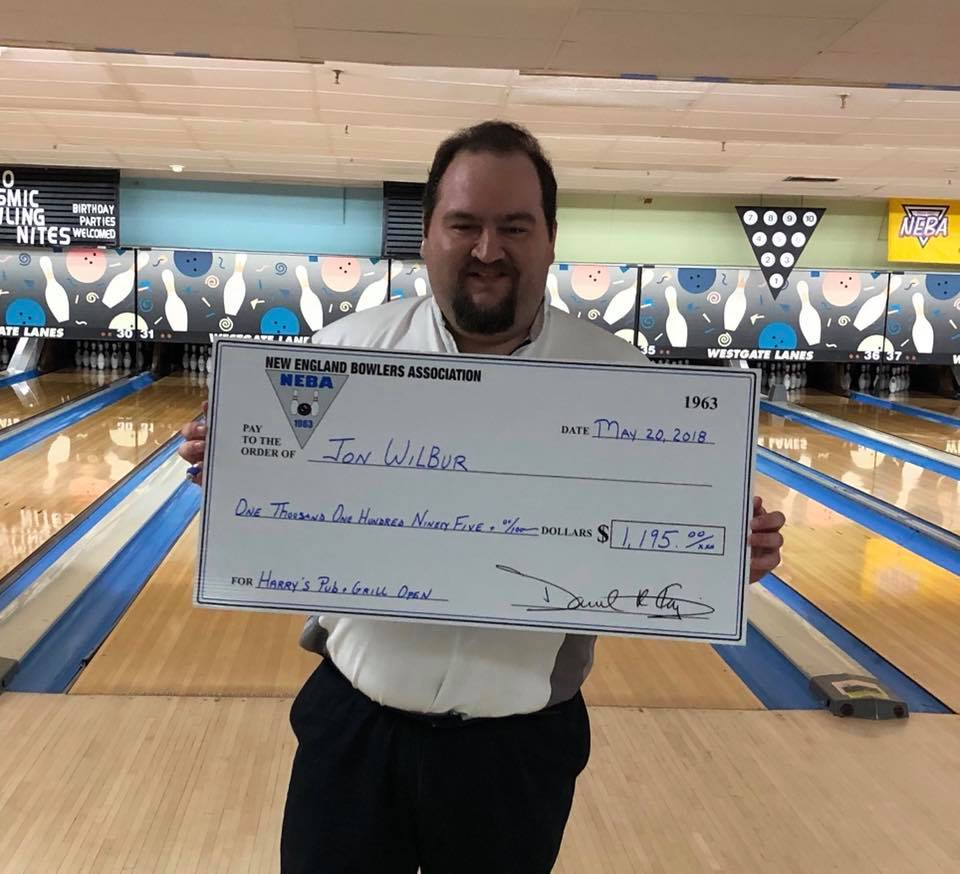 Jon Wilbur Wins Third Title at the Harry's Pub & Grill Open