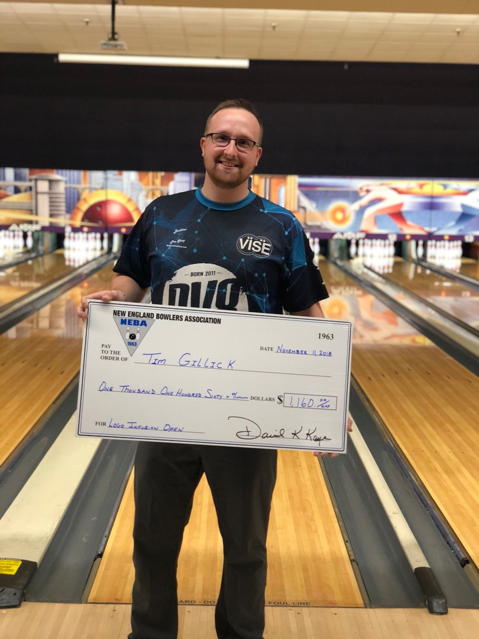 Tim Gillick Champ at Logo Infusion Open for 2nd Title