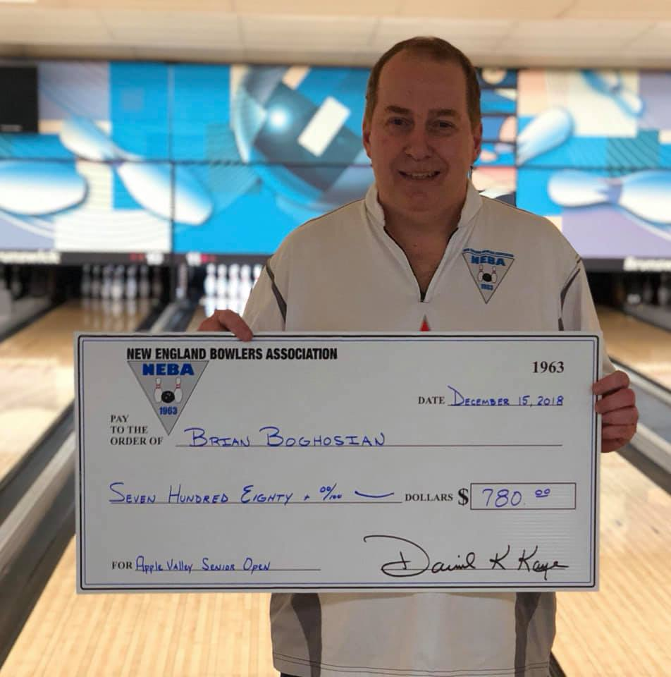 Brian Boghosian Wins Senior for 12th Title