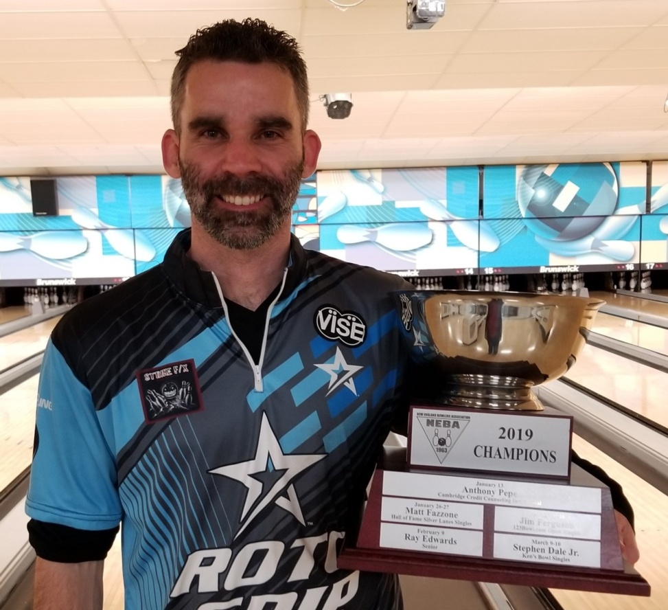 Jon Van Hees wins Title # 13 winning the Bowl Winkle's Pro Shop Open