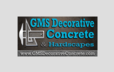 GMS Decorative Concrete & Hardscapes