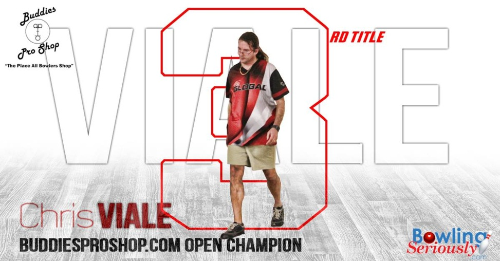Chris Viale wins 3rd NEBA Title at the Buddies ProShop.com Open
